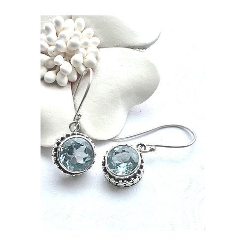 The Sundrop - Handmade Sterling Silver Gemstone Earrings