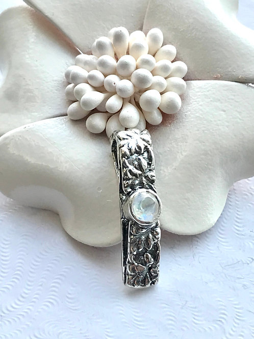 The Dainty - Handmade Sterling Silver Pendant with Gemstones