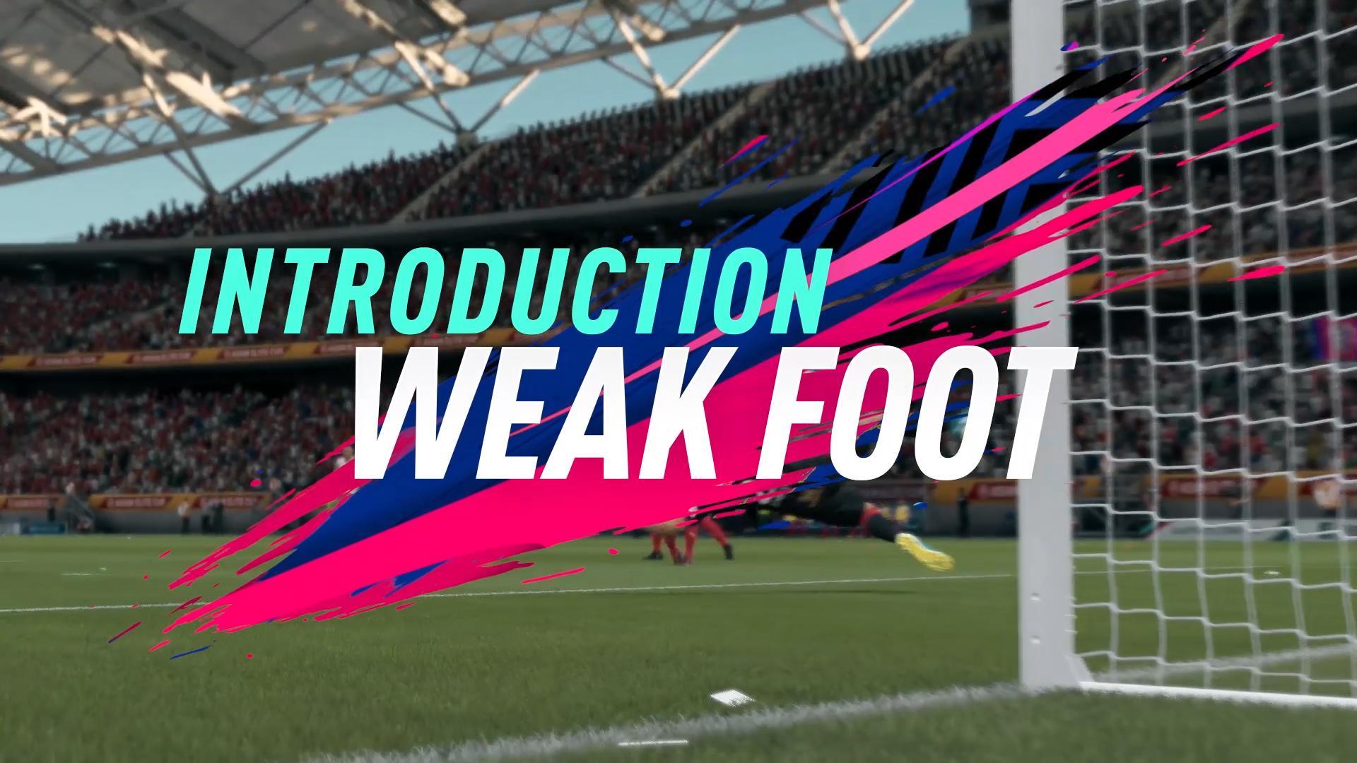 FIFA 19 WEAK VS STRONG FOOT