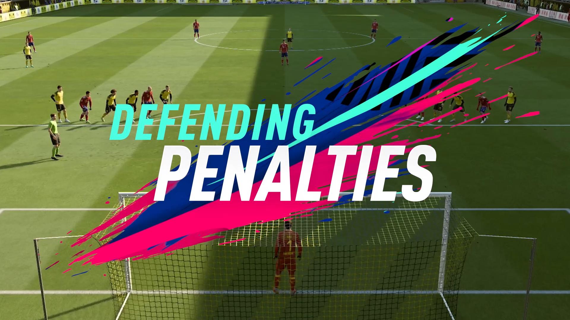 FIFA 19 DEFENDING PENALTIES