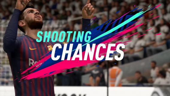 FIFA 19 SHOOTING CHANCES