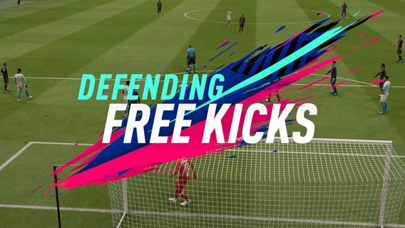 FIFA 19 DEFENDING FREE KICKS