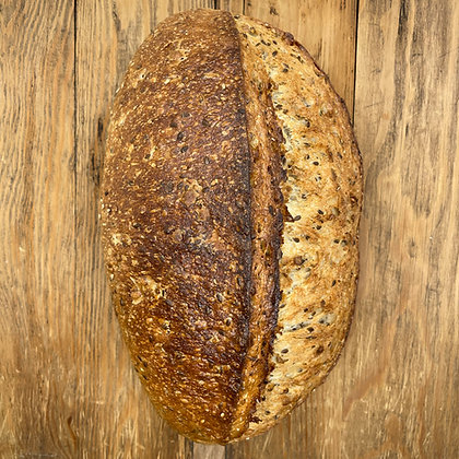 Three-Seed Sourdough