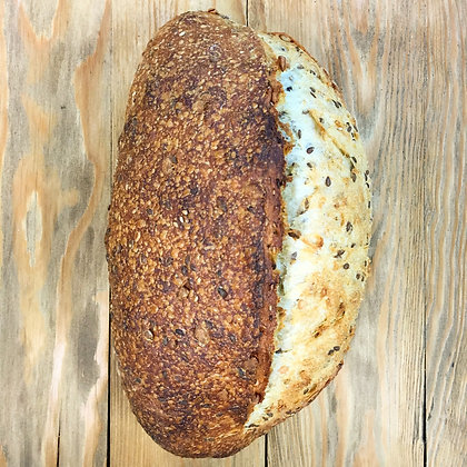 Three-Seed Sourdough @Barryville
