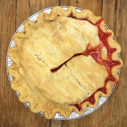 Strawberry Rhubarb Pie @Barryville