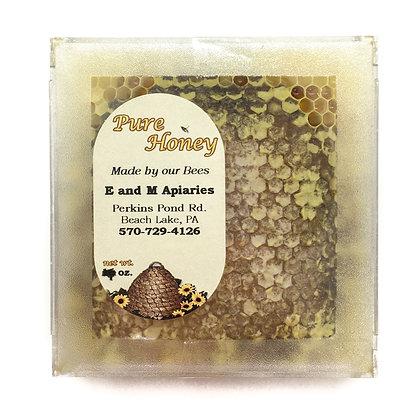 E & M Apiaries Honey Comb