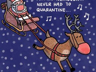 2020 Rudolph (sleigh bells jingling)