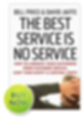 The Best Service is No Serice Book | LimeBridge | Custmer Experience Consultants