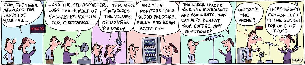 Diagnostic Cartoon | LimeBridge | Custmer Experience Consultants