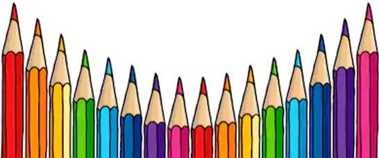 multicolor-pencils-border-isolated-over-