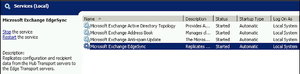 MS Exchange EdgeSync