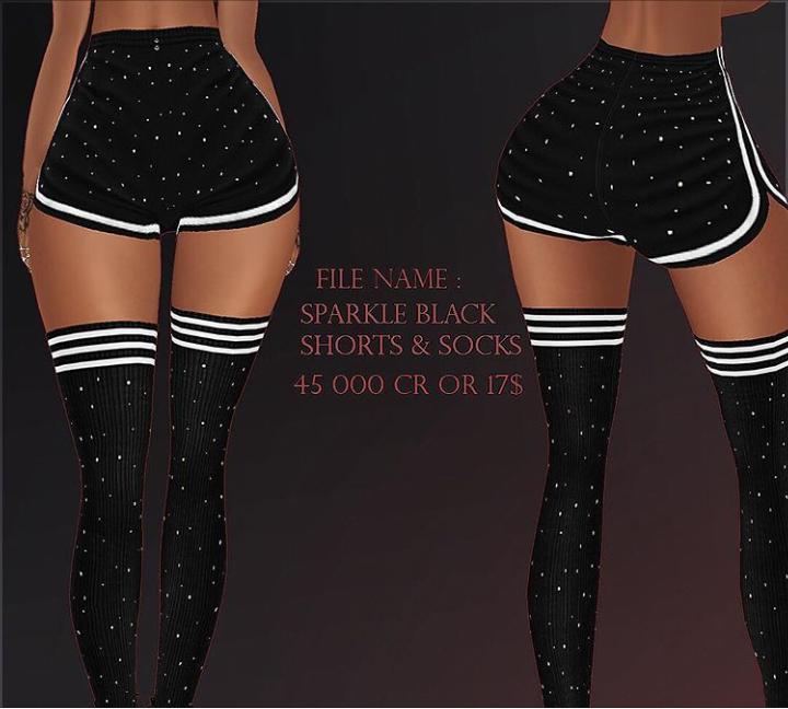 Sparkle Shorts & Socks