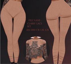 Classy Lace Set