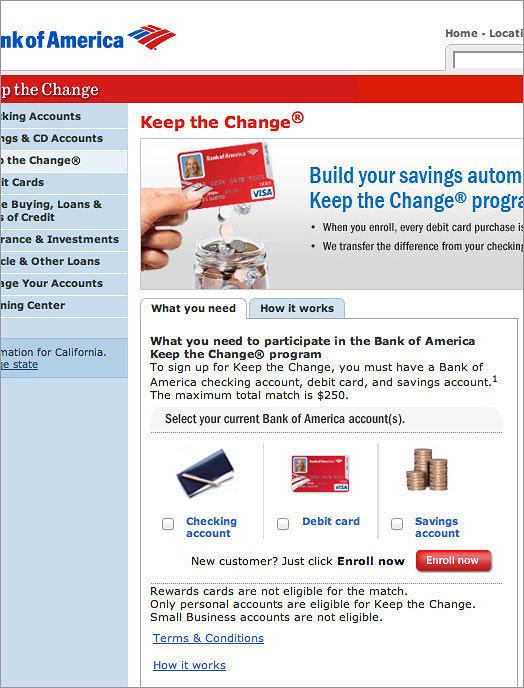 Keep the Change Original Design Screenshot