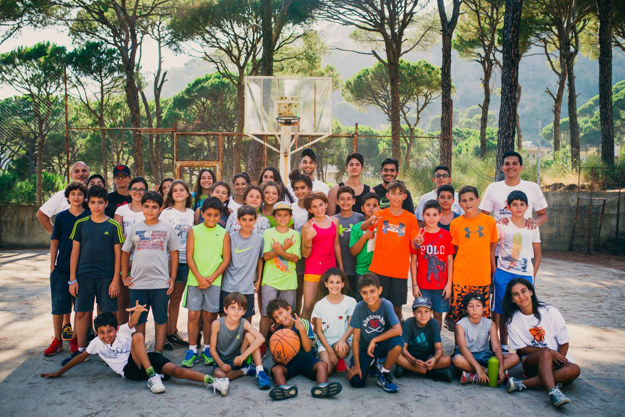 basketball camp high 5 events