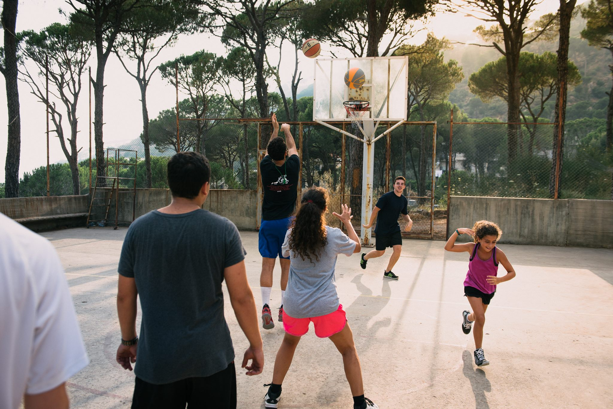high 5 events basketball camp