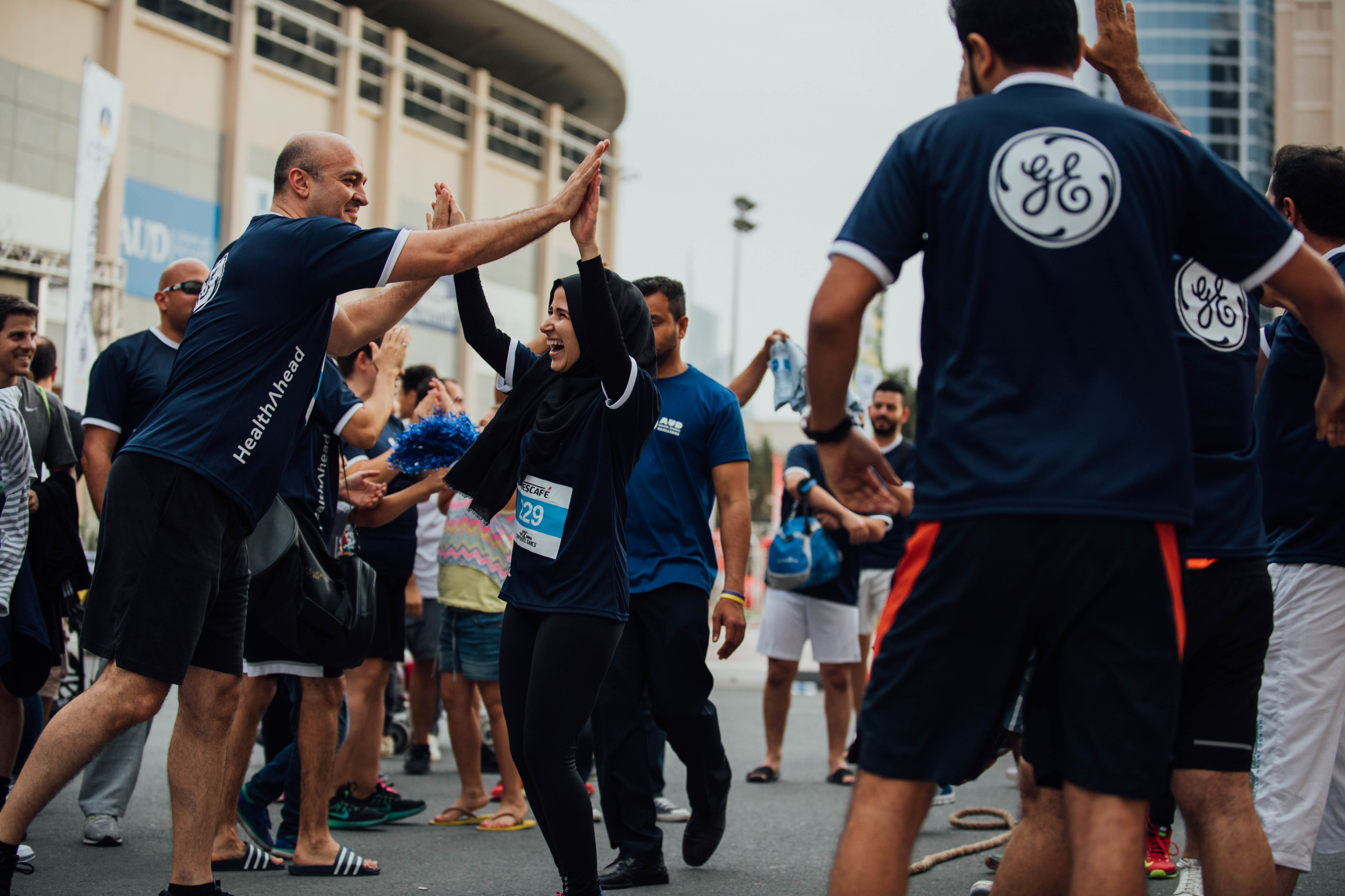 Dubai Corporate Games 2017 High 5 Events