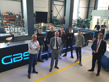 Nieuwe roldeur en officiële kick-off voor GBS TEC