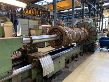 Lasercladding blijft productie draaien in rustige tijd
