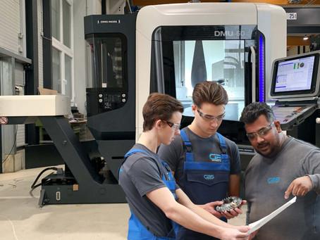 Nieuwe freesmachines TEC bereiden GBS voor op de toekomst