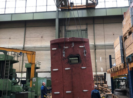 GBS Machining Services produces new rudder stock