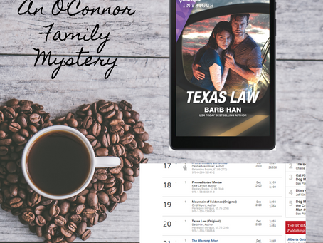 TEXAS LAW is a Publisher's Weekly Bestseller