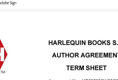 A new contract means four more books!