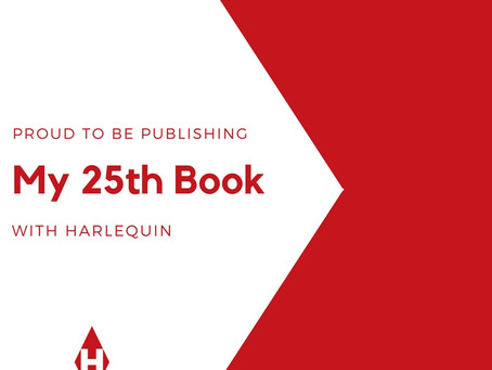 CRIMINAL BEHAVIOR is my #25 with #Harlequin--so honored!