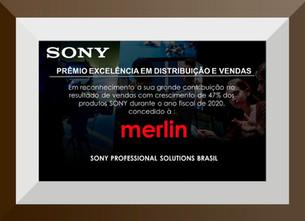 El premio reconoce el desempeño de Merlin Distributor.