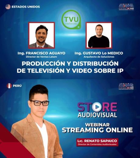 Viernes 27 de noviembre, 12:00Hrs LA PRODUCCIÓN Y DISTRIBUCIÓN DE TELEVISIÓN, VIDEO SOBRE IP Y EL ST