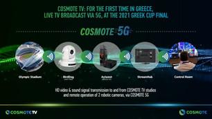 Cosmote realiza la primera retransmisión 5G en Grecia