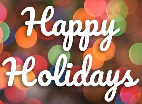 Holiday Estimates!