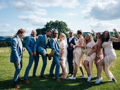 Beth and Jack - Wedding photo sneaky peeky