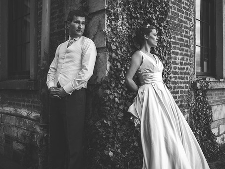 Rachael and Alistair, Shropshire wedding photography