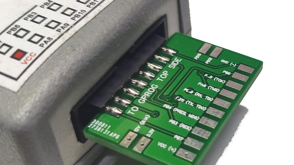 Адаптер-переходник для внутрисхемного программирования