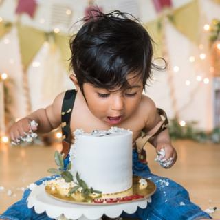 Jungle Theme Cake Smash