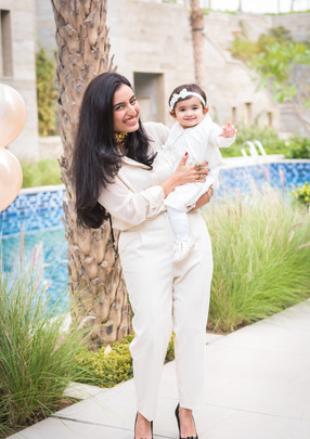 Mom & Baby Outdoor Photoshoot
