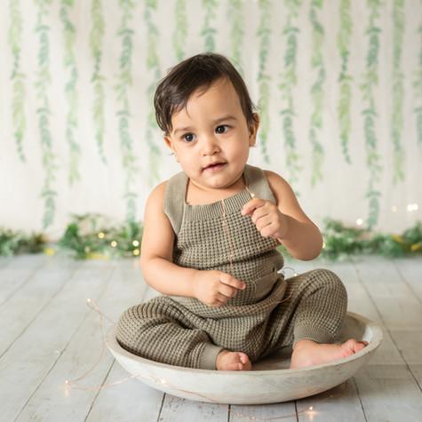1 Year Old Baby Boy Photoshoot