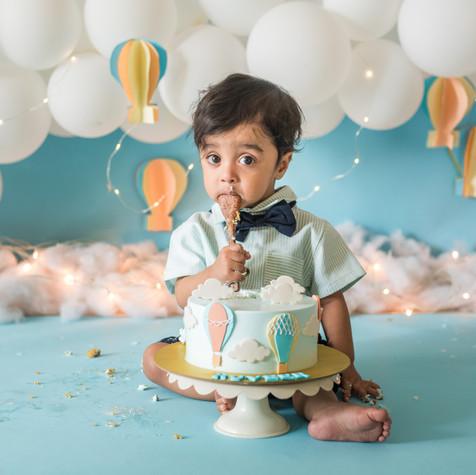 Cake Smash Theme Photoshoot
