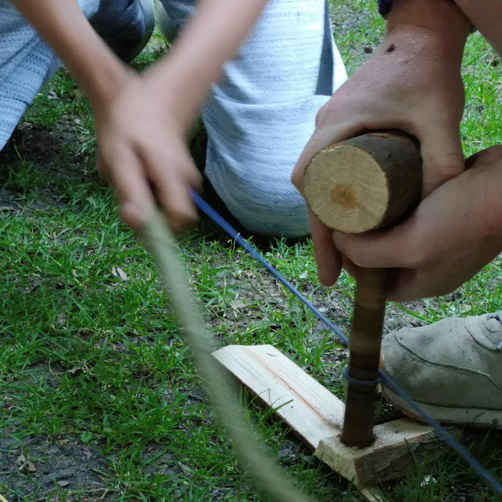 Woodsman Juniors - bow making
