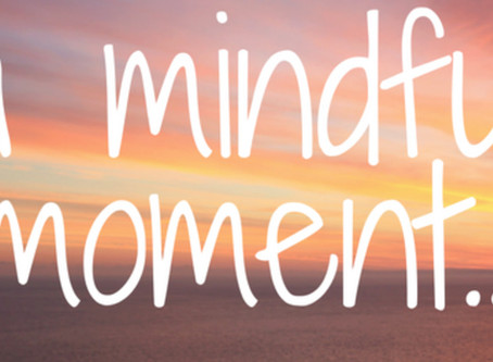 6 Ways to Take a Mindful Moment...On The Go!