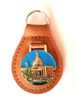 Tucson Temple keychain