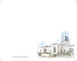 Temple watercolor sketch