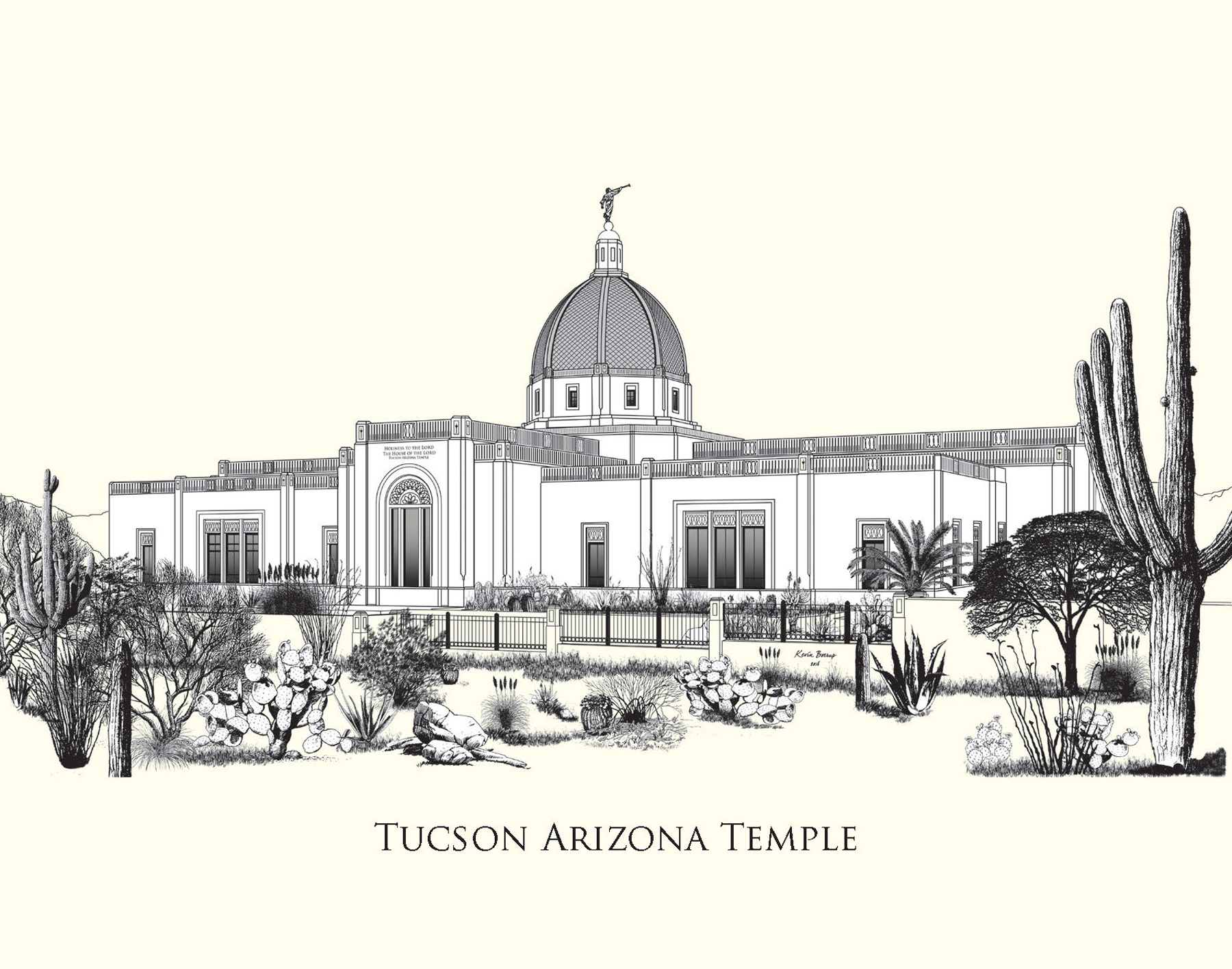 Tucson Temple Note card