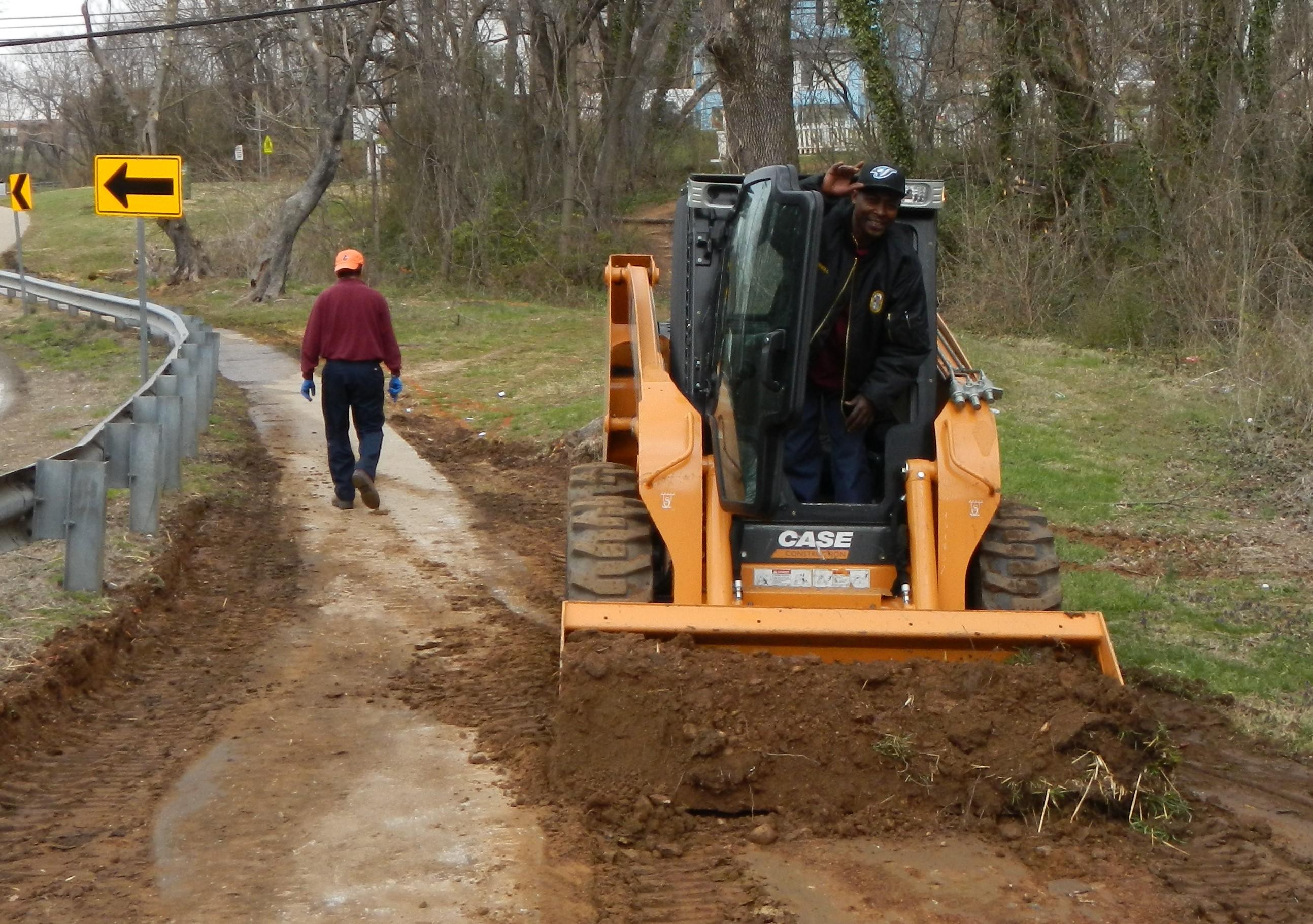 Purnell prepares site