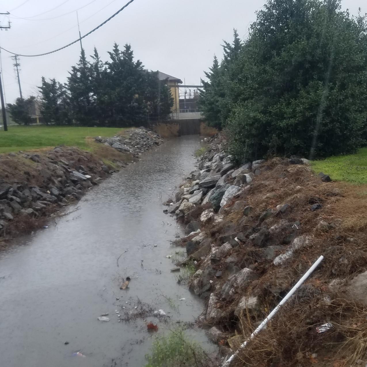 flood gates at Anacostia River