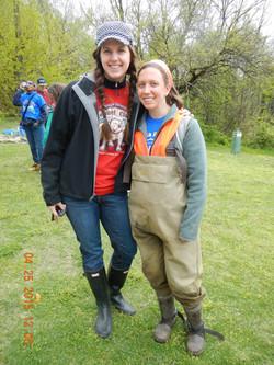 volunteers from EPA join the effort