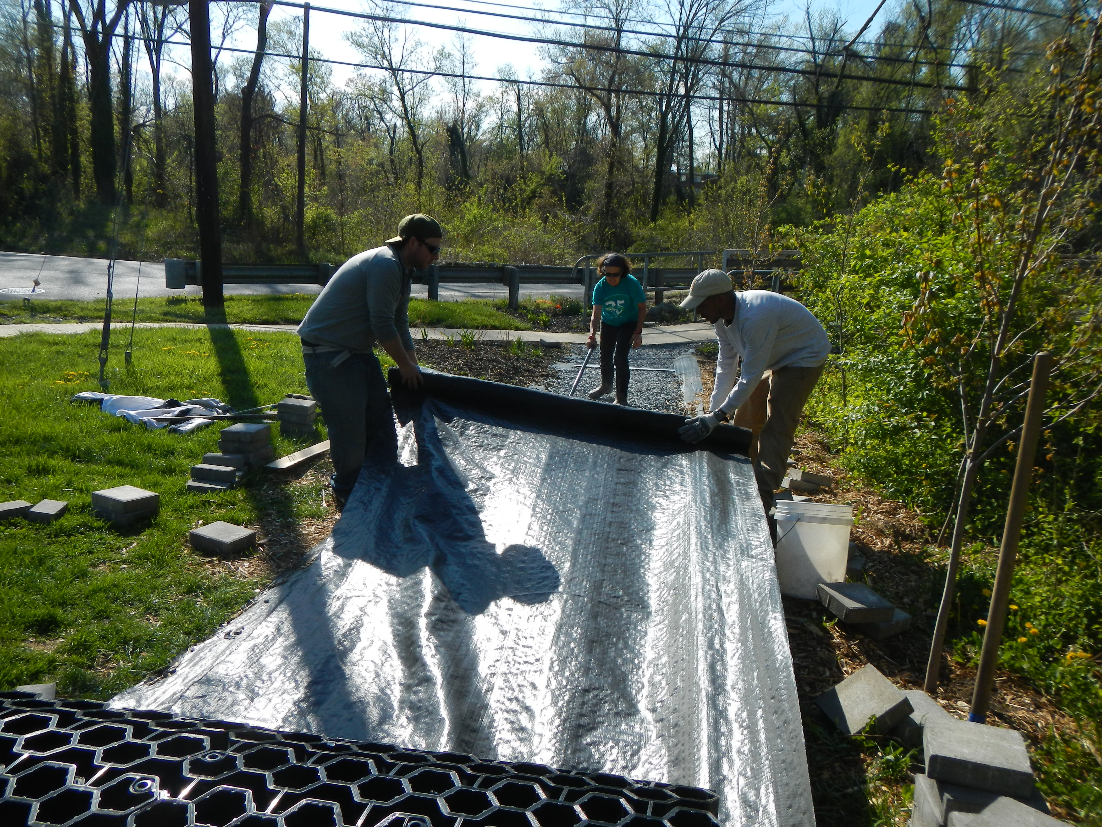 Installing the path