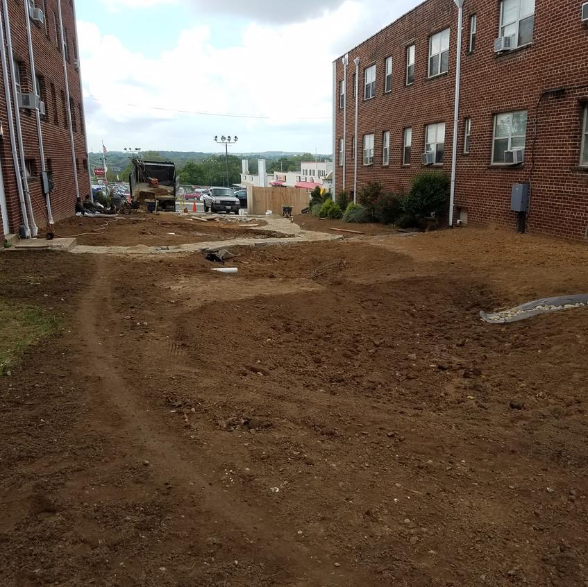 reinforced turf
