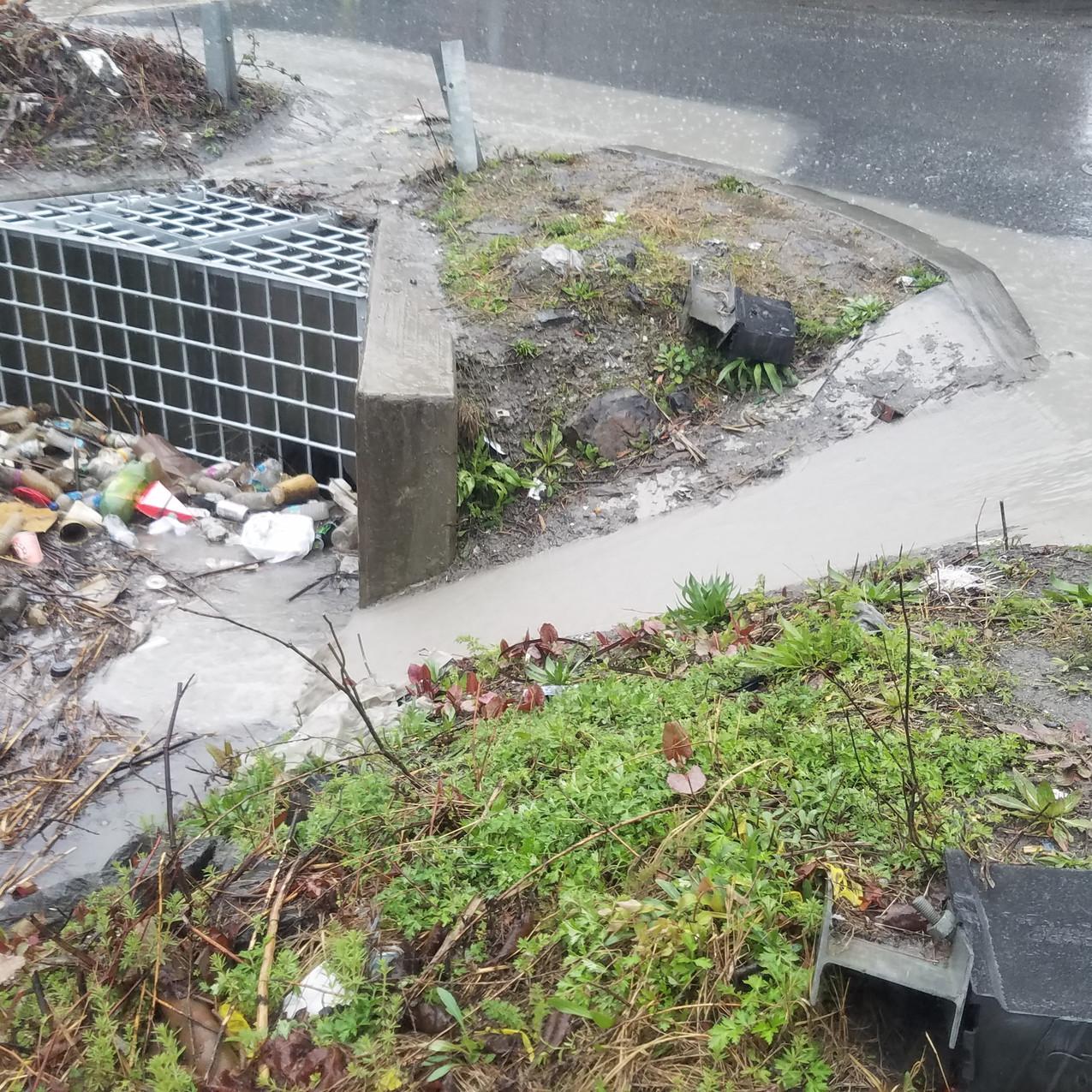 47th Street trash trap